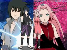 sasuke and sakura sasuke s and s children shina and daisuke by alienskiller1