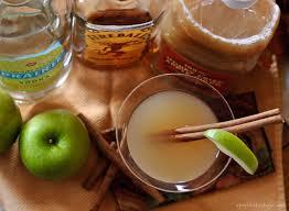 cinnamon apple martini apéritif friday