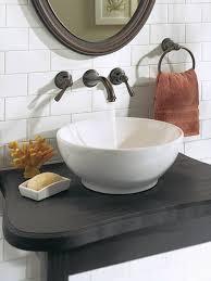 moen t6107orb kingsley two handle low arc wall mount bathroom