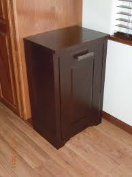 household essentials cabinet laundry hamper tilt out garbage woodh