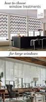 Large Window Drapery Ideas Best 25 Large Window Treatments Ideas On Pinterest Large Window