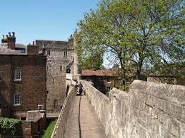 walking trip around york city walls history walk towers turrets