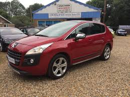peugeot dealers uk peugeot 3008 estate 1 6 hdi 112bhp allure 5d for sale parkers