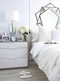 Black And White Bedroom Decor by 8 Wintery White Rooms That Give You The Warm Fuzzies Hgtv U0027s