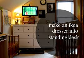 making u0026 using a standing desk stories u0026 thyme