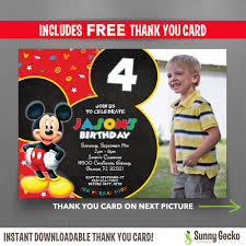 disney mickey mouse clubhouse birthday circle labels instant
