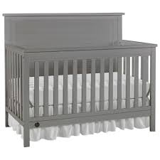 Convertible Cribs Fisher Price Lucas 4 In 1 Convertible Cribs Wire Brushed Grey