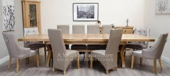 X Leg Dining Table Rustic Deluxe Oak Rustic Deluxe Super X Leg 2400 To 3400 Extending