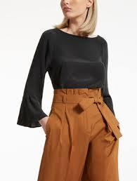 brown blouse s shirts max mara 2018 collection