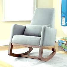 Modern Rocking Chair For Nursery Modern Gliders Nursery As Sgmun Club
