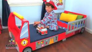 kidkraft 76031 fire truck toddler bed mambokids youtube
