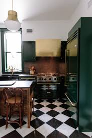 black and white kitchen floor images 9 spaces that made us want black white checkered floors