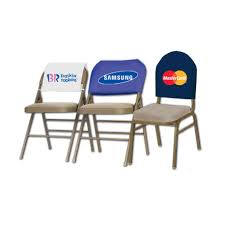 chair back cover printed chair back cover iron brand solutions