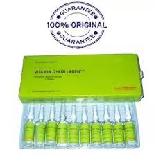 Vitamin C Kolagen Suntikan Harga rodotex nano injeksi vitamin c collagen hijau original lazada