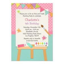 breathtaking painting birthday party invitations theruntime com