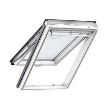 velux white timber top hung roof window h 1180mm w 1140mm