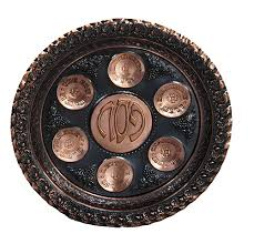 shabbat plate holidays passover passover plate bronze branch of israel