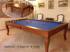 Pool Table Converts To Dining Table by Dining Room Table Converts To Pool Table And Tv Is Behind Mirror