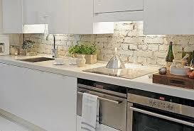 White Brick Kitchen Tiles - Brick backsplash tile