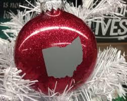 2 2inch ohio state buckeye ornaments brutus buckeye