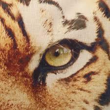 3d animal cat dog tiger face throw pillow case sofa office car