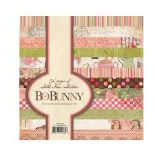 bo bunny miss collection 6 x 6 paper pad