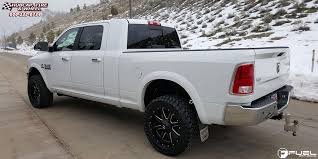 dodge ram with black rims dodge ram 3500 fuel maverick d538 wheels black milled