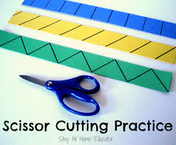 At Home Diys by Diy Scissor Cutting Practice Strips Stay At Home Educator Stay