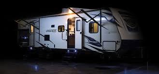 Rv Awning Led Lights Sporttrek St322vbh Travel Trailer Venture Rv