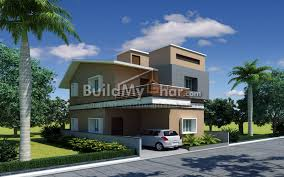 chrome corner 3 bhk house design plan