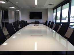 White Conference Table Glass Conference Tables C U0026 A Furniture