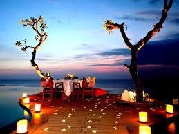 Candle Light Dinner Romantic Candle Light Dinner Te U0027amo Bali Services