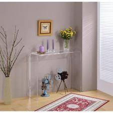 Ghost Console Table Lucite Table Ebay