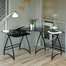 Office L Desks by Glass Top L Desk Large Home Office Furniture Eyyc17 Com