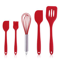 online buy wholesale kitchen set design from china solid color piece set healthy silicone cooking tools durable simple design kitchen
