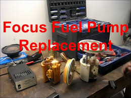 ford focus 2002 fuel replacing a ford focus fuel the easy way