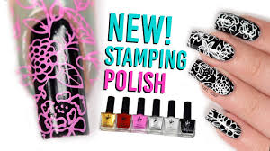 new nail stamping polish review twinkled t youtube