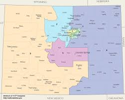us house of representatives district map for arkansas colorado s congressional districts