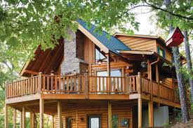 hillside cabin plans satterwhite log homes the creekside photos