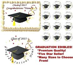 edible graduation caps edible graduation cupcake toppers with like this item edible