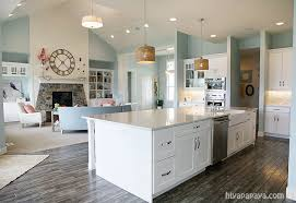 kitchen and family room great room simple clean fresh