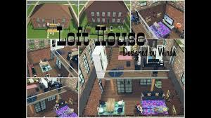 loft house design simple loft house design sims freeplay youtube