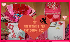 Homemade Valentines Day Ideas For Him by Diy Valentine U0027s Day Ideas How To Make An Explosion Box Youtube
