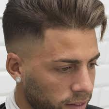 tony and guy hairstyle picture beautiful high fade with long textured hair combed over with toni