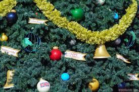 photos epcot u0027s 2017 christmas holiday decorations