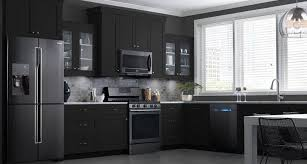 kitchen design white cabinets black appliances tips for matching cabinets with black stainless steel appliances