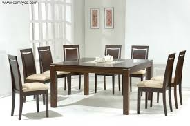 modern dining room set white modern dining chairs modern dining
