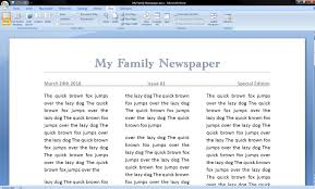 Newspaper Book Report Template College Essays College Application Essays Newspaper Format Word