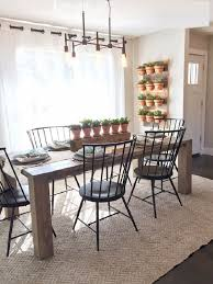 charming modern farmhouse dining room chandelier black cap pendant