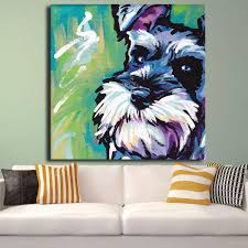 Sell Home Decor Products Schnauzer Dogs Pictures Promotion Shop For Promotional Schnauzer